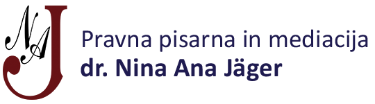 Pravna pisarna in mediacija, dr. Nina Ana Jäger